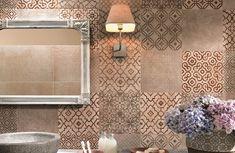 Creta-FAP-20, Cucina, Salotto, Bagno, Effetto effetto 3d, Effetto effetto mattone, stile Stile patchwork, Ceramica, rivestimento, Superficie opaca, Bordo rettificato, Stonalizzazione V2