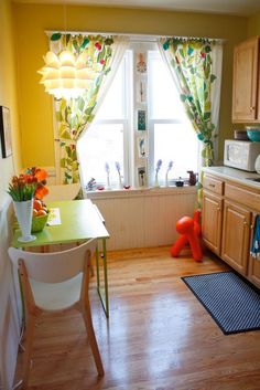 Colorful House Tour Kitchens