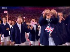 Team GB make their mark at the Olympic Opening Ceremony   Daily Mail Online