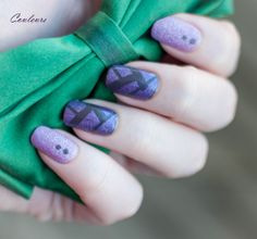 Zoya Stevie, China Glaze Virtual Violet