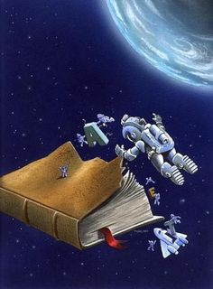Books in space!