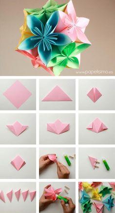 Resultado De Imagen Para Ideas Origami Estrellas