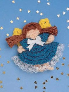 My Little Angel Doll Crochet Pattern - free membership required