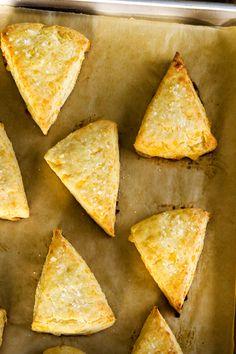 Gluten Free Scones: Cheddar Mustard