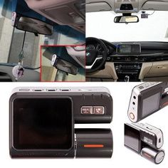 HDE HD Dual Lens Dashboard Car DVR Dash Cam and Rear View Camera Accident Recording System with Night Vision and Motion Detection/G-Sensor Model: Car/Vehicle Accessories/Parts Dashboard Car, Camera Store, Premium Cars, Dashcam, Car Videos, Rear View, Night Vision, Car Accessories, Used Cars