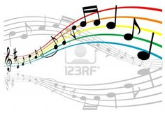 Notes with music elements as a musical background design Stock Photo - 10942159
