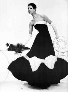 Fashion photography by John French, 1950s.