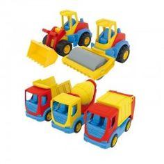 Wader 35310 - Auta Tech Truck - Bezpieczne, Wytrzymałe Maszyny Budowlane dla dzieci od 1 roku.   Autka posiadają ruchome elementy, które uatrakcyjnią zabawę  Świetny prezent dla małego budowniczego!  Sprawdźcie sami:)  http://www.niczchin.pl/wader-garaz-tor-auta/3076-wader-35310-auta-tech-truck-maszyny-budowlane.html  #wader #klocki #dlaroczniaka #zabawki #prezenty #upominki #niczchin #kraków