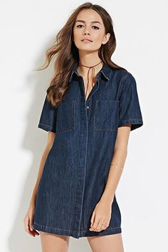 DENIM JUMPSUIT | Forever 21