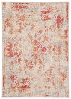 The Cirque collection artistically melds contemporary appeal with the timeless and intricate beauty of Oriental designs. The Dreslyn area rug features an elegantly abrashed floral pattern with classic scrolling details and a regal expression of style. The distressed sunset colorway creates a vintage look on this power-loomed viscose and polyester accent.