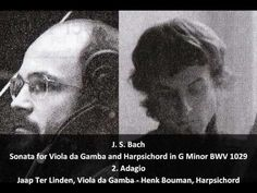 J. S. Bach - Sonata for Viola da Gamba and Clavier in G Minor BWV 1029 - Gould & Rose (2/3)