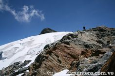 Glaciar Humbolt sierra nevada del estado Merida,Venezuela.Foto de Valentina Quintero