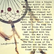 pebbles and butterflies