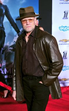 Michael Rooker at an event for Captain America: The Winter Soldier (2014)