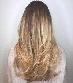 "half updo hairstyles Lazy G., Lazy Hairstyles, "" half updo hairstyles Lazy Girl Source by hairstyyles. Long Thin Hair, Long Hair Cuts, Thick Hair, Straight Layered Hair, Half Long Hair, Layered Cuts, Haircuts For Long Hair With Layers, Long Layered Haircuts, Layered Hairstyles"