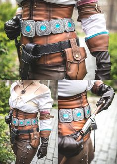 Ciri details pictures by RhavanielCreations