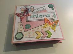 thecrazyely: Album porta foto per Chiara