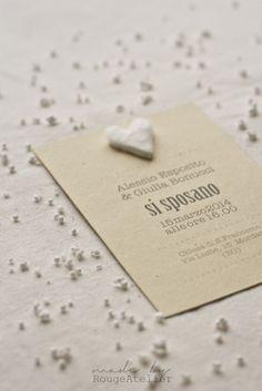 rougeatelier Winter cotton suite | wedding invitation