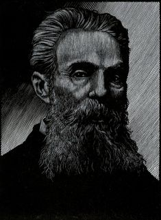 Herman Melville by Barry Moser