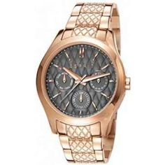 Espirit Analog For Women - Watches Online, Michael Kors Watch, Gold Watch, Chronograph, Bracelet Watch, Prime Watches, Bracelets, Stuff To Buy, Accessories