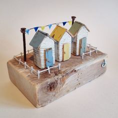 New 'Easter Huts' handmade from driftwood and reclaimed materials.   #easter…