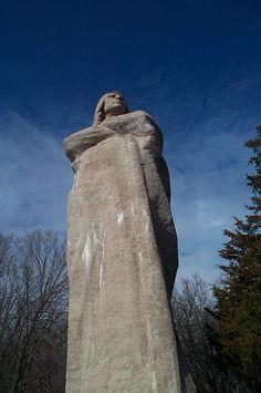 Black Hawk Statue, Lowden State Park, Oregon, Illinois