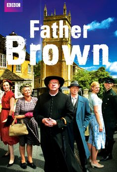 """Father Brown"" British series. Detective Show. Starring Mark Williams as Father Brown."