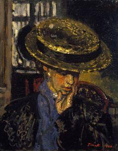 walter richard sickert(1860–1942), l'américaine, 1908. oil paint on canvas, support: 50.8 x 40.6 cm; frame: 74.8 x 64.9 x 5.5 cm. tate http://www.tate.org.uk/art/artworks/sickert-lamericaine-n05090