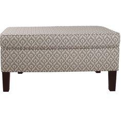 Skyline Furniture Clover Upholstered Storage Bedroom Bench & Reviews | Wayfair