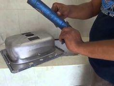 Fijación / Instalación de tarja lavaloza - Parte 2