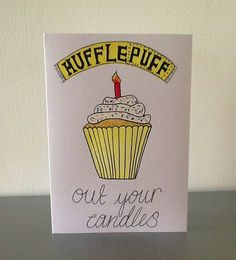 Hey, I found this really awesome Etsy listing at https://www.etsy.com/listing/161076879/harry-potter-greeting-card-hufflepuff