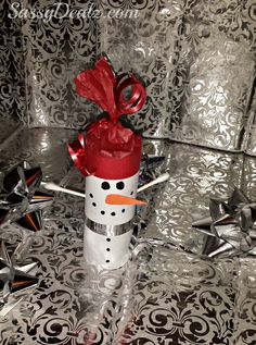 DIY Snowman Toilet Paper Roll Craft For Kids (Cute Christmas Project)