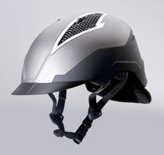 Devon Aire Matrix Helmet - Designed to absorb the force of impact and distribute the energy in a lateral motion away from the head through the upper layer of foam, and thus reducing the G-Force impact to the head.