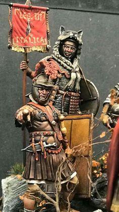 Samurai, Antigua, Rome, Samurai Warrior