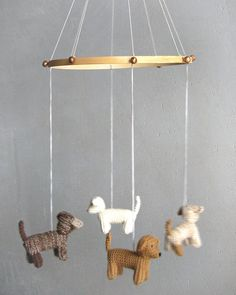 puppy mobile - etsy    mobile  by Patricija