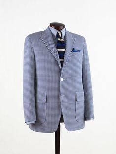 J. Press - gingham sport coat by Daniel Cremieux
