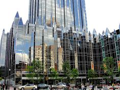 PPG Place, Market Square, Pittsburgh, Pennsylvania, USA  I love this building!