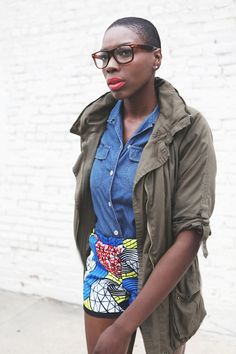 African Prints in Fashion: Della goes Urban Outfitters