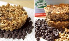 These no bake chocolate chip flax and oat bars are easy to prepare, great for an energizing snack, and customizable to most diets. Mixed Vegetables, Grilled Vegetables, Grilling Recipes, Dog Food Recipes, My Favorite Food, Favorite Recipes, Sweet Bar, Oat Bars, Dairy Free Recipes