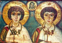 Queer Saints and Martyrs: A compendium of gay- and transgender-identified saints and martyrs in Christian history. Drawn from the Calendar of Lesbian, Gay, Bisexual, and Transgender Saints compiled by Anti Intimidation, Saint Catherine's Monastery, Sainte Catherine, Les Religions, Roman Soldiers, Early Christian, Christian Church, Christian Images, Christian Art