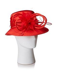 Giovannio Women's Schoolgirl Hat, Red