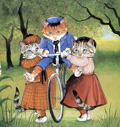 """""""On a Bike"""" par Susan Herbert"""