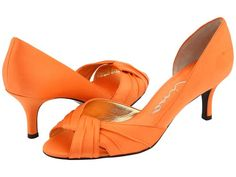 585039f0a0a a pop of colour with orange heels...thinking of ordering custom Nina shoes