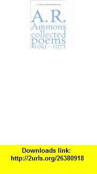 Selected poems A. R Ammons ,   ,  , ASIN: B0006BURTC , tutorials , pdf , ebook , torrent , downloads , rapidshare , filesonic , hotfile , megaupload , fileserve