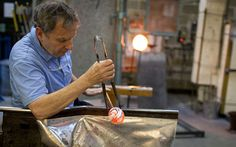 Video: Peter Layton: the 78-year-old glassblower breathing life into a dying industry - Telegraph