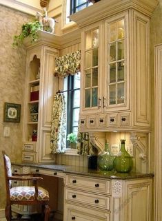 Take a look at our pick of the best french country kitchen designs and find the dream scheme for the heart of your country home. Country Kitchen Designs, French Country Kitchens, French Country Decorating, Country French, Cottage Decorating, French Kitchen Decor, Kitchen Interior, French Cottage Decor, French Country Furniture