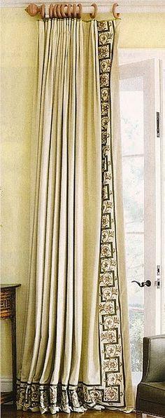 Greek Key Keys And Curtains On Pinterest