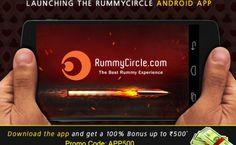 Rummycircle Android App | Get Rs.500 Bonus http://www.rummymania.com/rummycircle-android-app-get-rs-500-bonus/