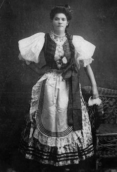 Traditional Hungarian Costume