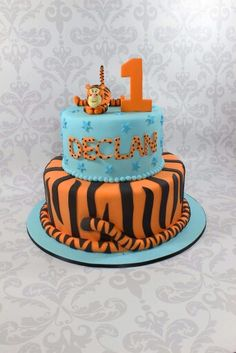 Gorgeous tigger cake!